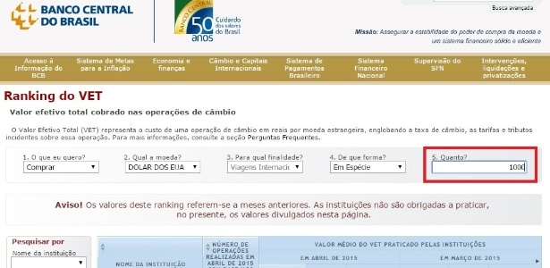 ranking-de-dolar-do-banco-central-valor